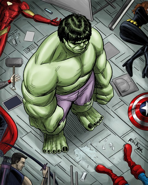 hulk disagrees original